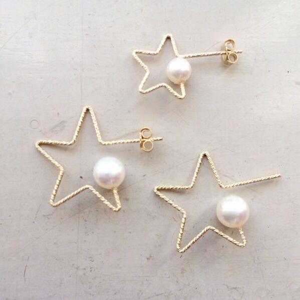 画像1: 【Twinkle Star】片耳ピアス