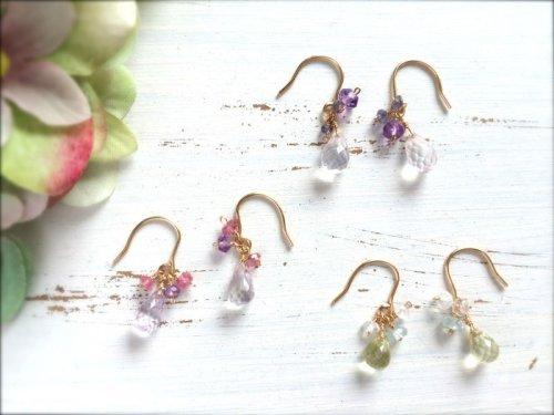 他の写真2:  【Herb】 天然石のイヤリング