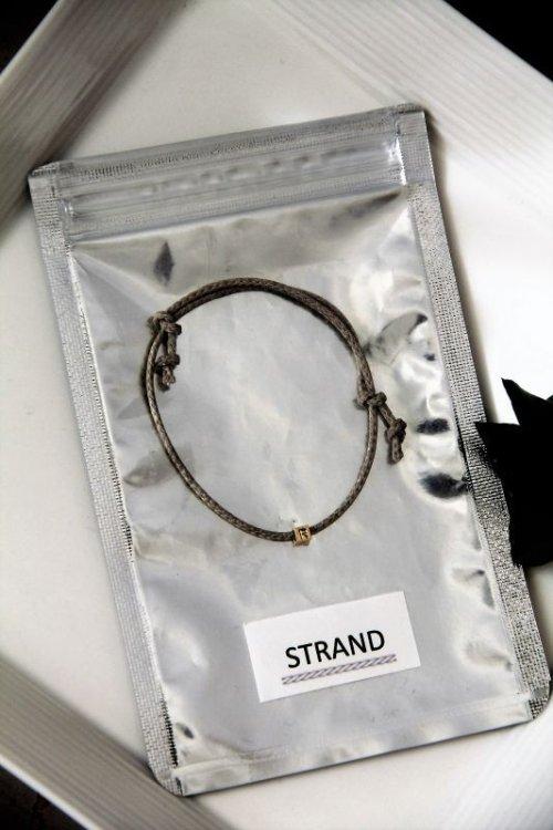 他の写真3: 【STRAND】 キューブ イニシャル ブレスレット