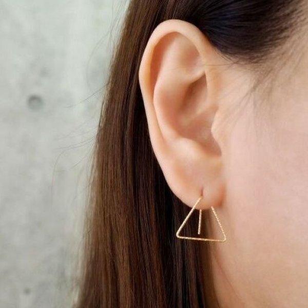 画像2: 【Triangle - トライアングル 】 片耳ピアス