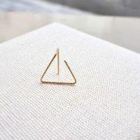 【Triangle - トライアングル 】 片耳ピアス